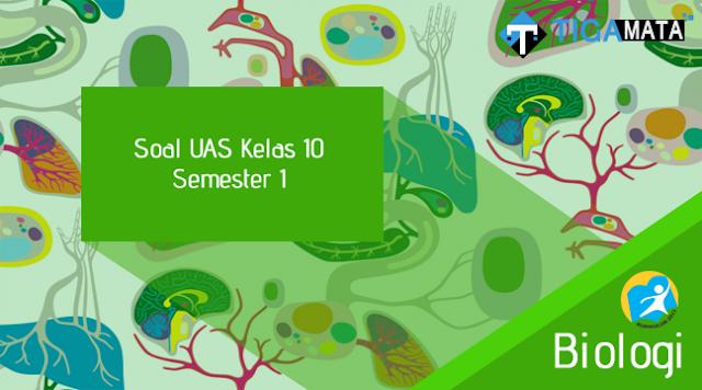 200 Contoh Soal Biologi Kelas 10 Semester 1 Kurikulum 2013 dan Jawabannya