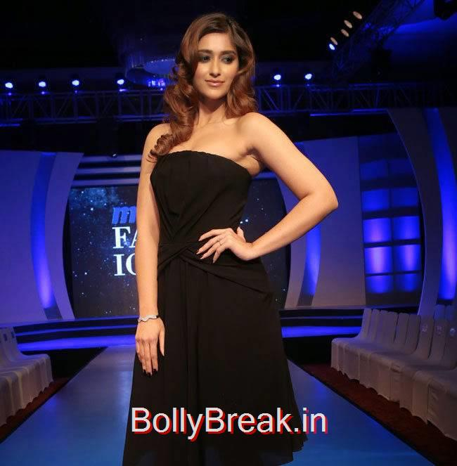 Ileana Stills, Ileana d'Cruz in Black dress without sleeves at Event