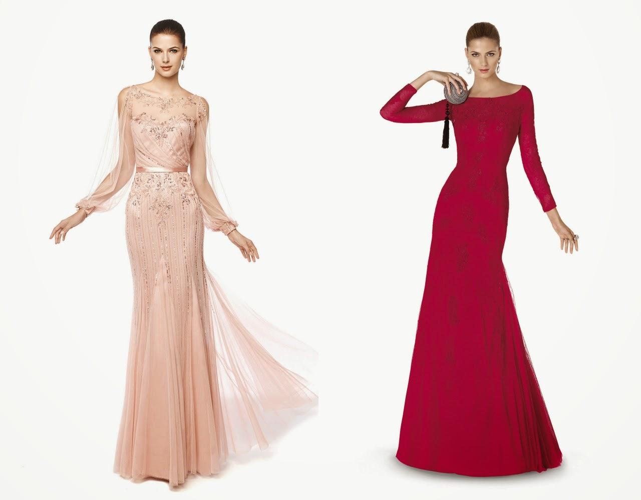 Özel Günler için Kışlık Elbise Modelleri 2017