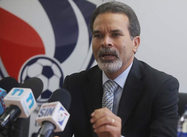 Dinardo Rodríguez designado director de la LDF,  Tony Ramos, presentado como secretario de la Fedofutbol