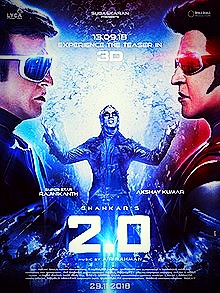 Download Robot 2.0 full movie,(2018) Rajnikanth and Akshay Kumar.
