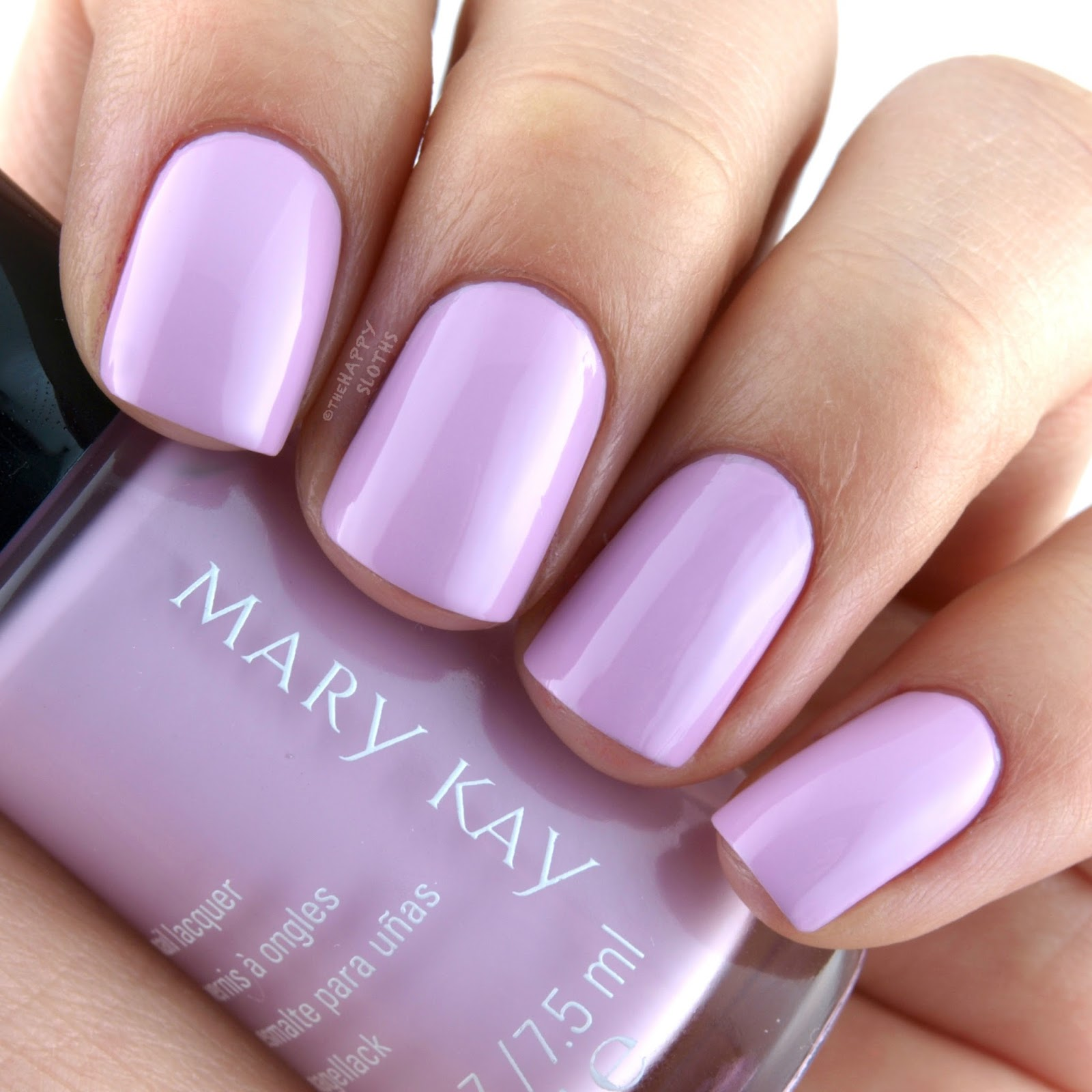 Mary Kay Spring 2017 Light, Reinvented Collection Nail Lacquer Luminous Mauve: Review and Swatches