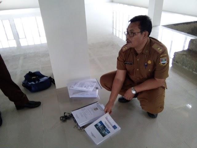 Kejari Bale Bandung Bersama Inspektorat Pantau Pembangunan Depo Arsip KBB