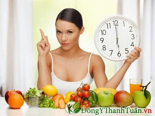 Ăn uống đúng giờ để phòng ngừa viêm loét dạ dày