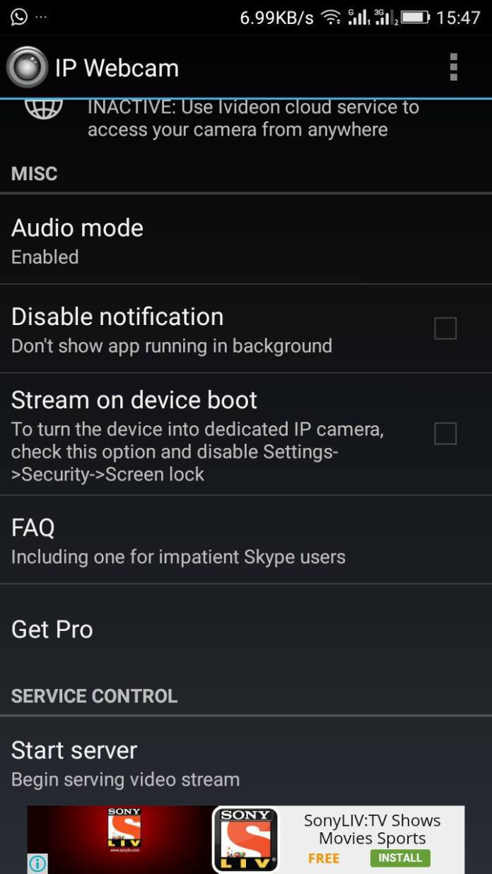Camera Use Your Android Phone As A Webcam how to use your android phone as wireless webcam for pc i tech gyd web camera pc