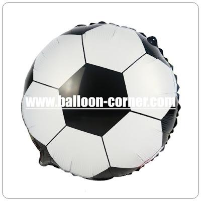 Balon Foil Bola Sepak Bola