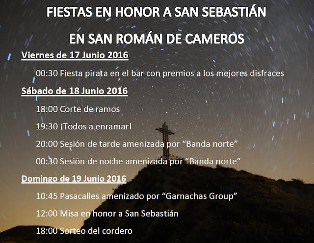 - 17 a 19 de Junio - - San Román de Cameros - - Fiestas de San Sebastián -
