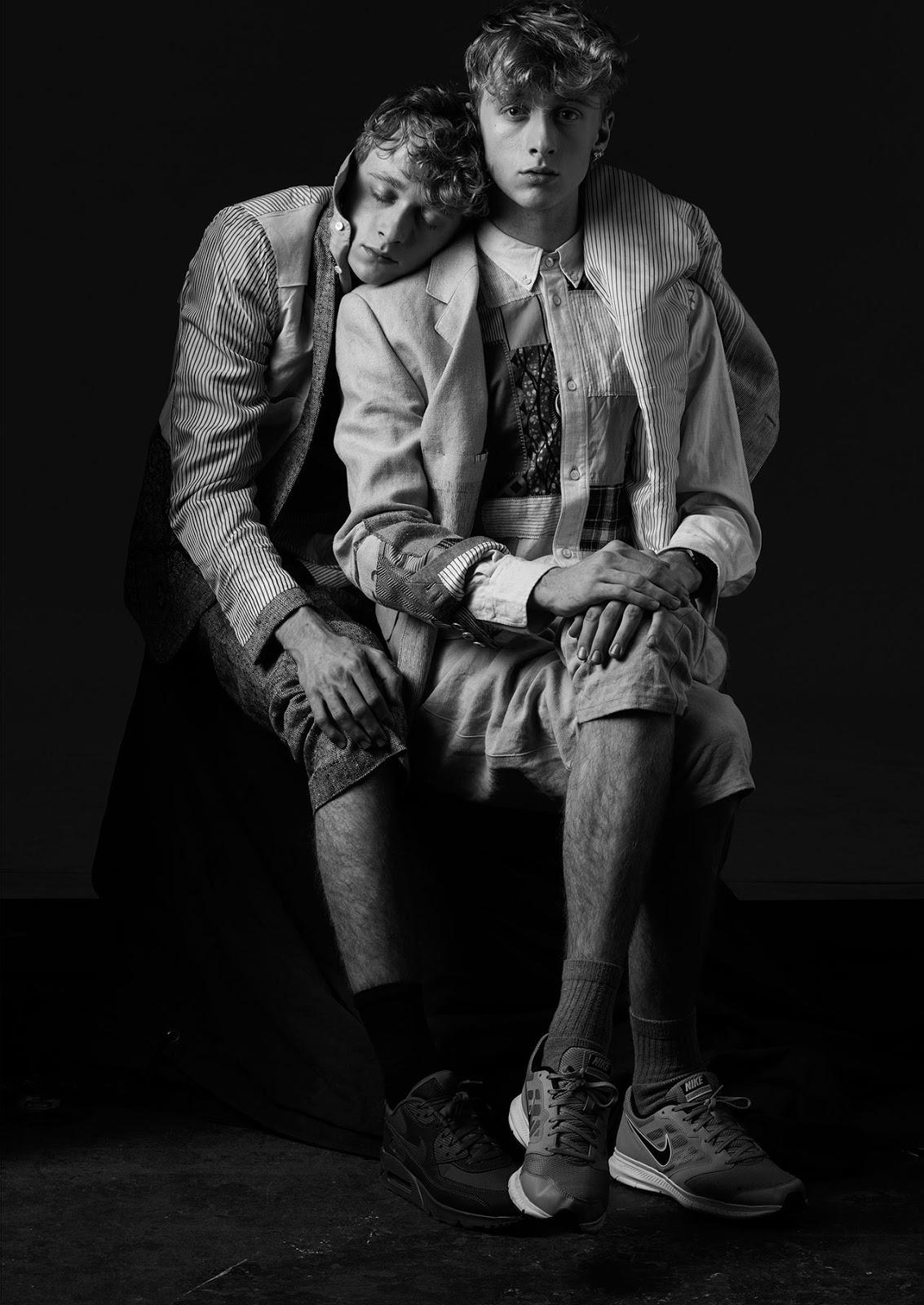 MORPHOSIS: Models : Patrick & Adam Perkins