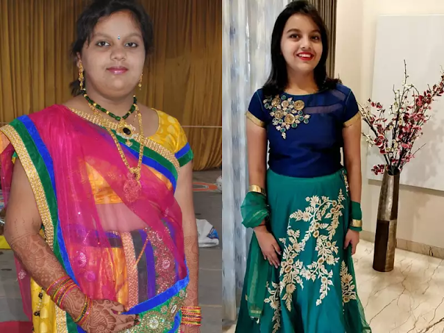 Srushti Weight Lose Before And After