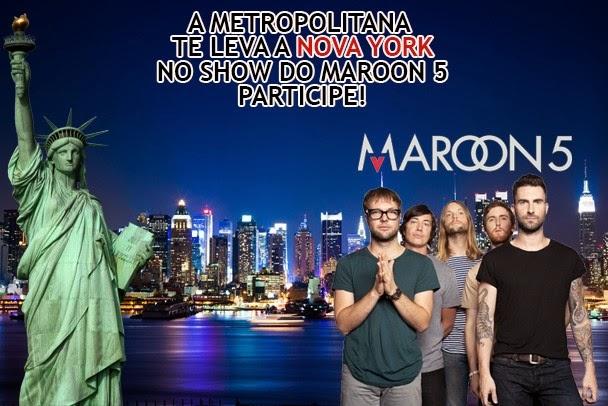 Promoção Show do Maroon 5 em New York