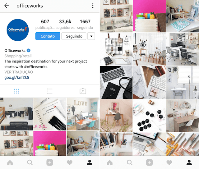 Instagram para seguir