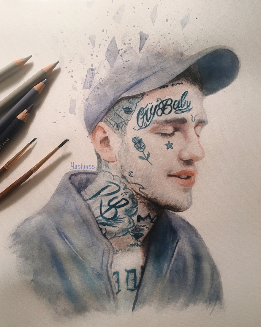 11-Lilpeep-Vlad-Yashin-Realistic-Color-Pencil-Portraits-of-Celebrities-www-designstack-co