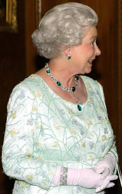 Queen Elizabeth United Kingdom Cartier Bracelet Tiara