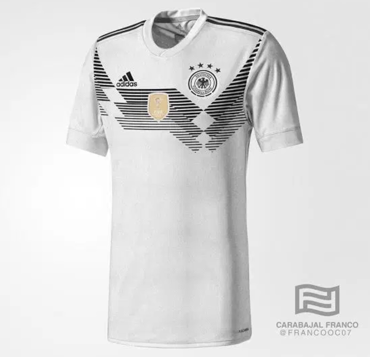 Germany World Cup 2018 Home Kit
