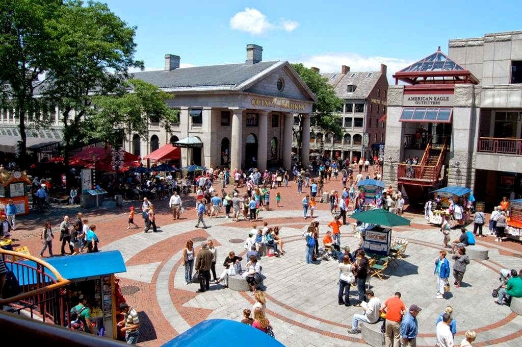 Places to visit in Boston  USA   Faneuil Hall Marketplace   Tobias     Sitting in the waterfront near the Government Center  the reputed  marketplace has all the reasons why people never get tired of visiting this  place