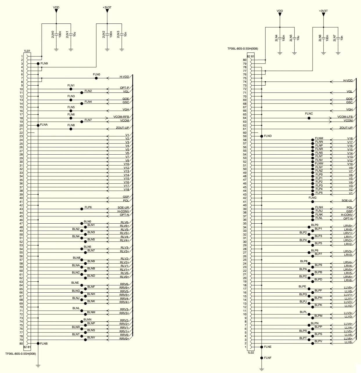T Con Board Block Diagram - Wiring Diagram Img