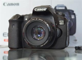 Canon Eos 60D + Lensa Fullset
