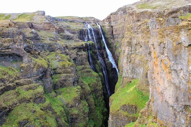 La cascada Glymur