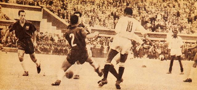 Perú y Chile en Copa del Pacífico 1953, partido de vuelta