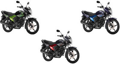 Yamaha Saluto 125 three colours option