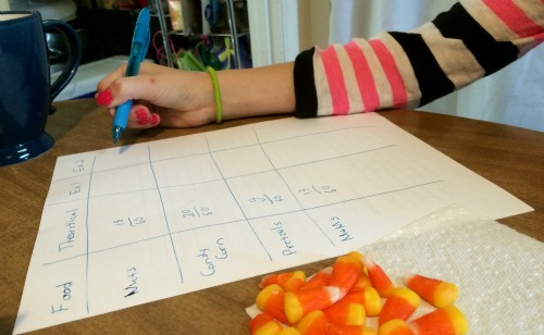 Hands-on learning of probability in math