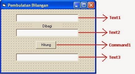 Cara Membuat Pembulatan Bilangan Angka Dengan Visual Basic 6.0