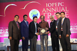 MANORAMA AWARDED FOR THE THE HIGHEST EXPORTER OF VEGETABLE BUTTERS FROM INDIA FOR 2017  BY IOPEPC , MINISTRY OF COMMERCE , GOVERNMENT OF INDIA ,CONTINUOUSLY 10TH ( TENTH CONSECUTIVE TIME IN A ROW )AT MAHABALIPURAM , CHENNAI