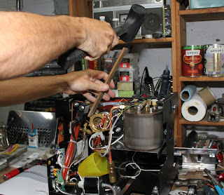 Endo S Coffee World Mini Vivaldi Brew Boiler Descaling