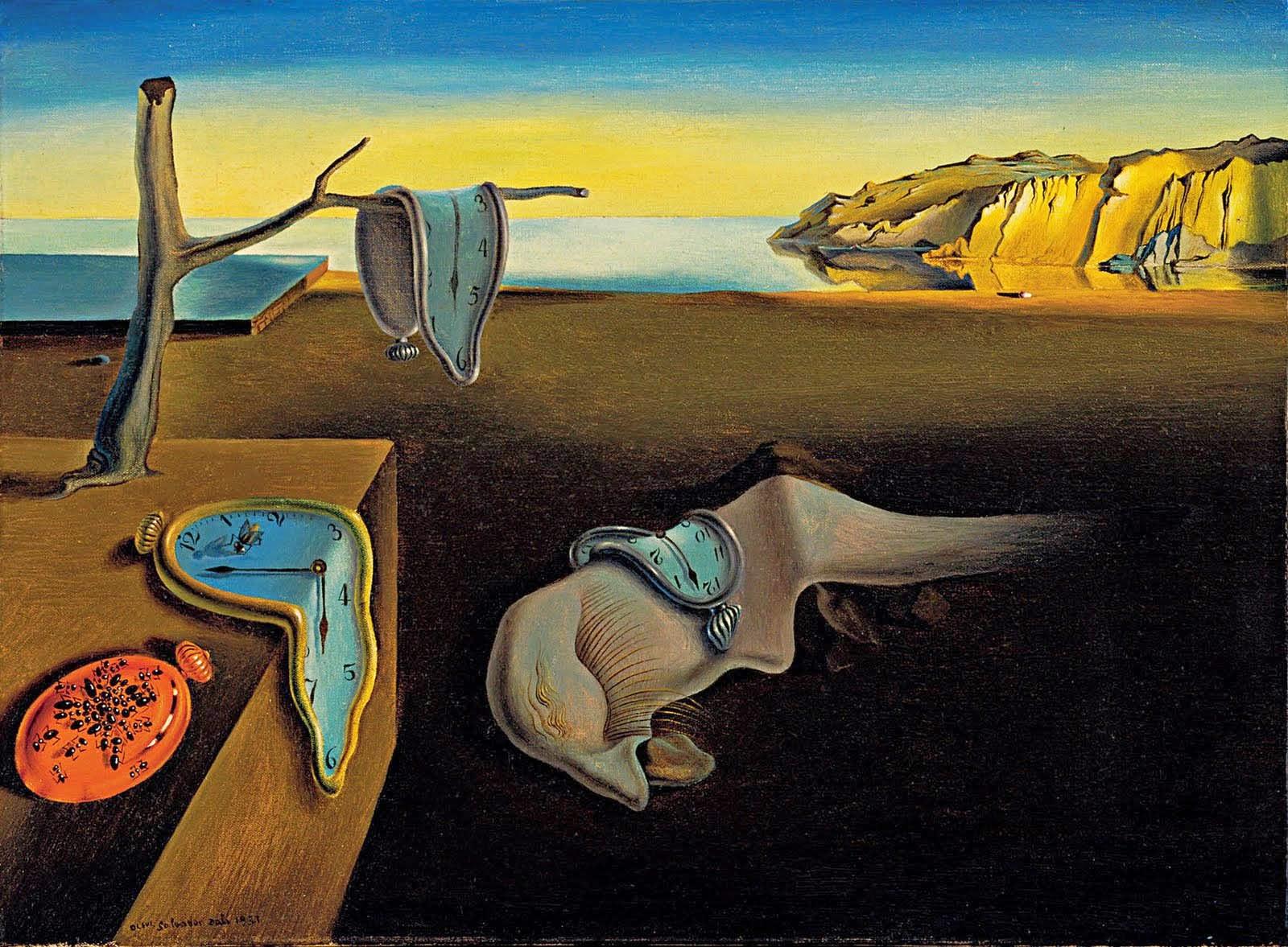 Salvador Dali e Suas Pinturas Surrealista