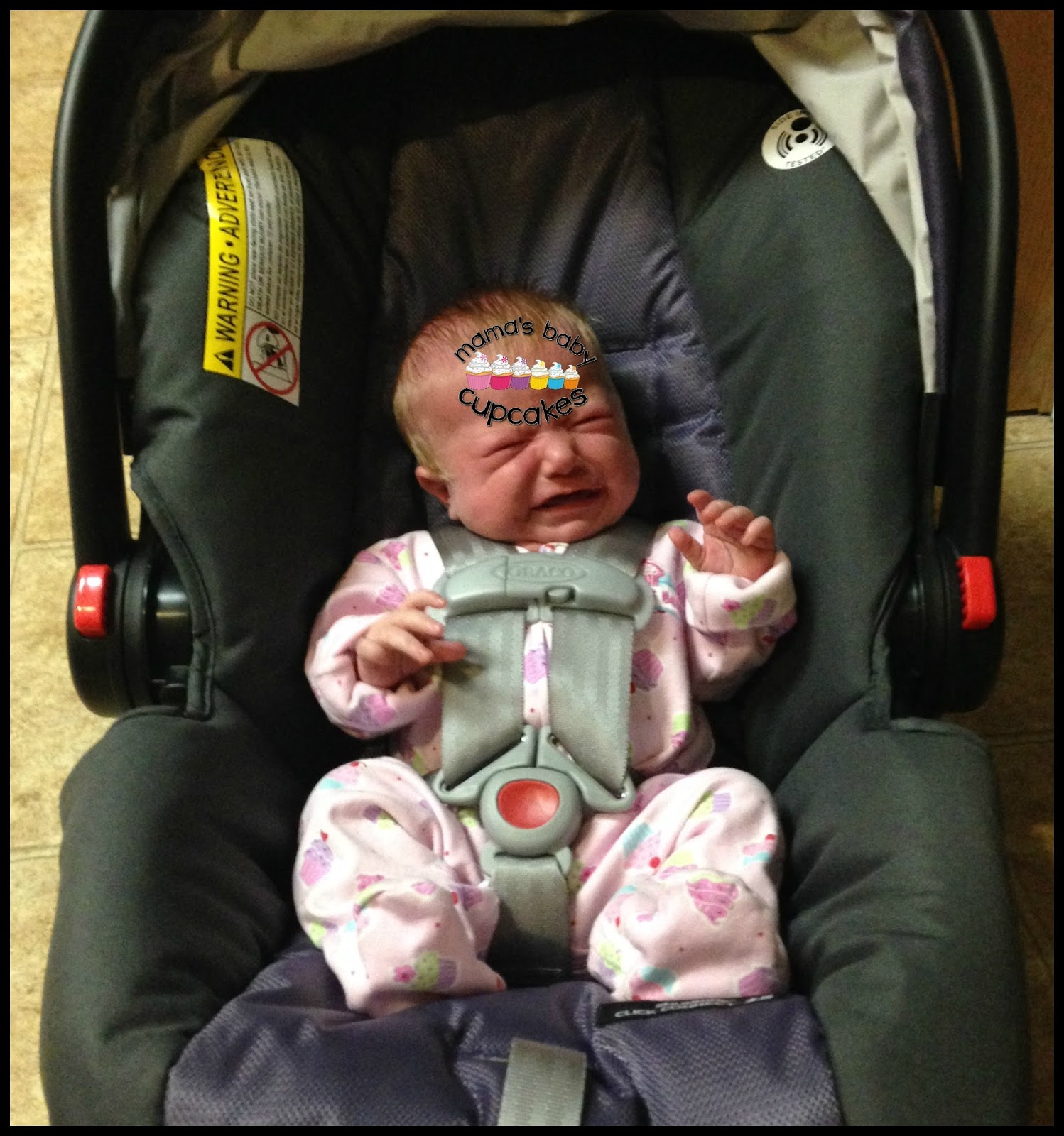 how to put a graco infant car seat back together