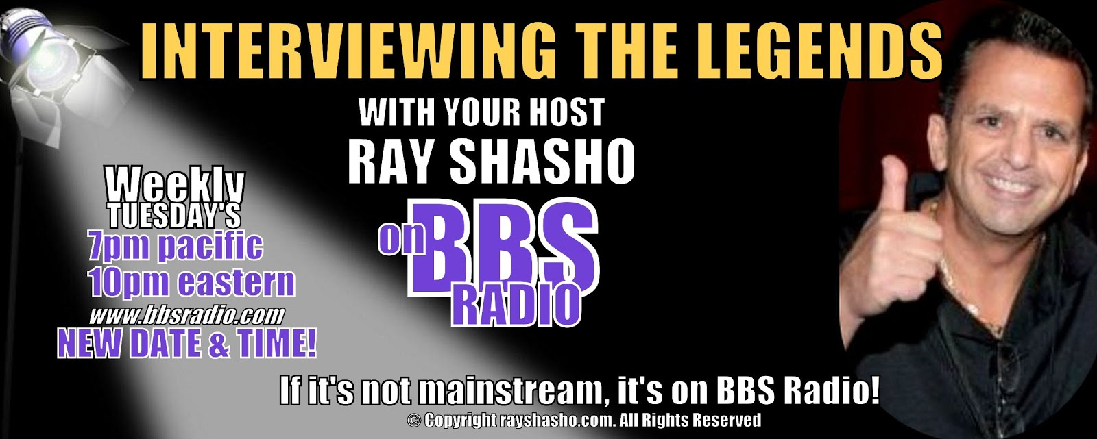 INTERVIEWING THE LEGENDS with RAY SHASHO