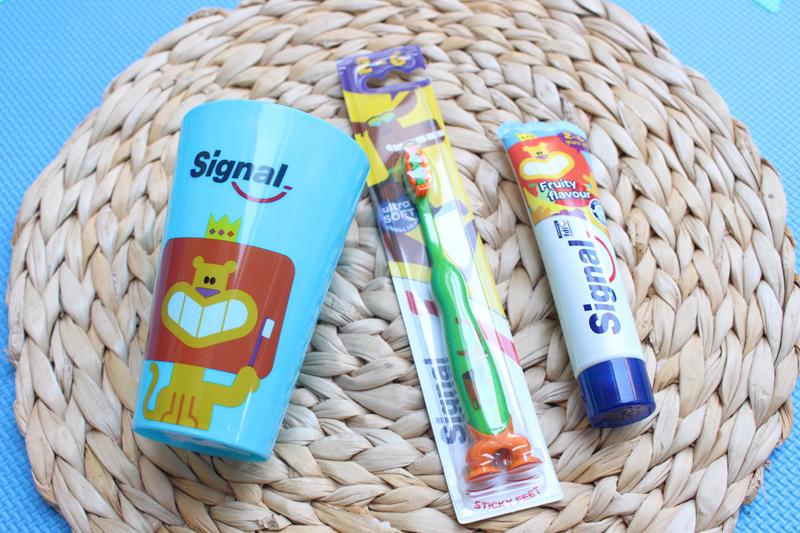 Cuidado dental Signal para niños