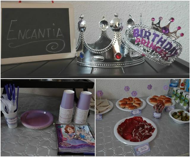 Una fiesta de cumpleaños de princesas (Princesa Sofía)