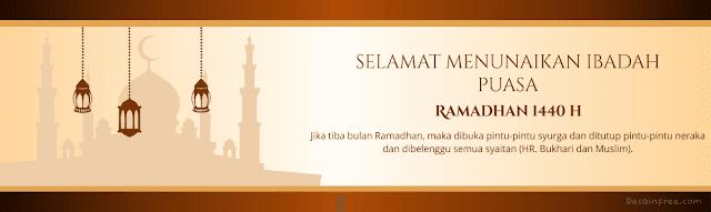 Download Desain Spanduk Bulan Ramadhan 1440 H