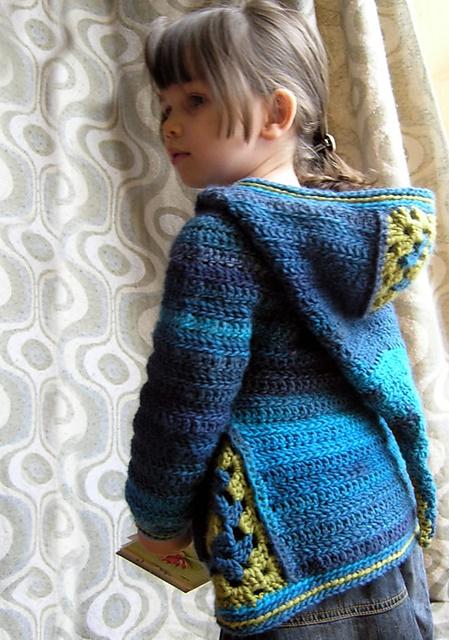jak zrobic sweterek szydelkiem dla dziecka