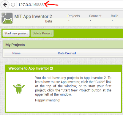 App Inventor 2 in locale