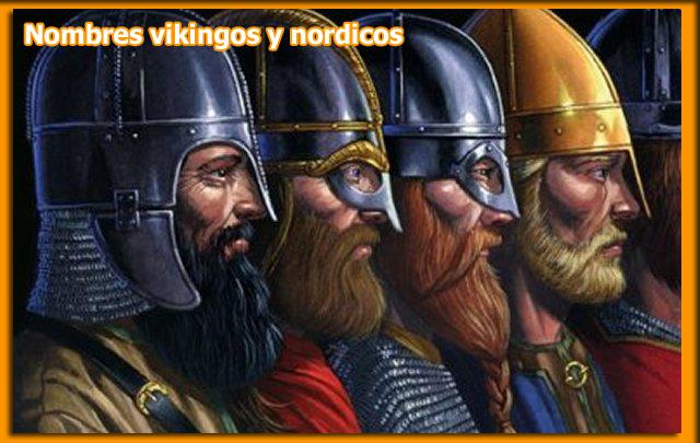 nombres vikingos nordicos