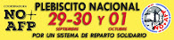 NO+AFP   PLEBISCITO NACIONAL  29-30 Sept.  1° Oct.