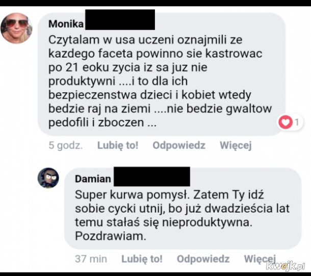 Damian Laszuk Kolejna Ofiara Feministycznej Agresji