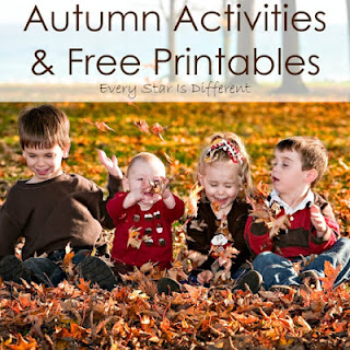 Autumn activities and free printables.