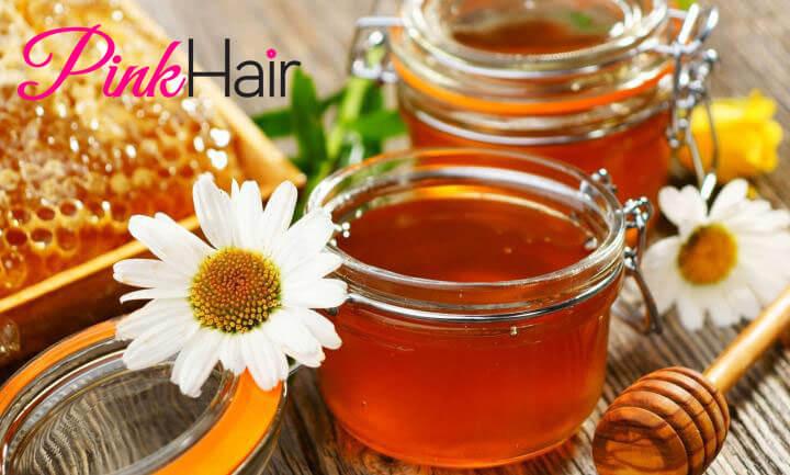 وصفات تطويل الشعر بالعسل