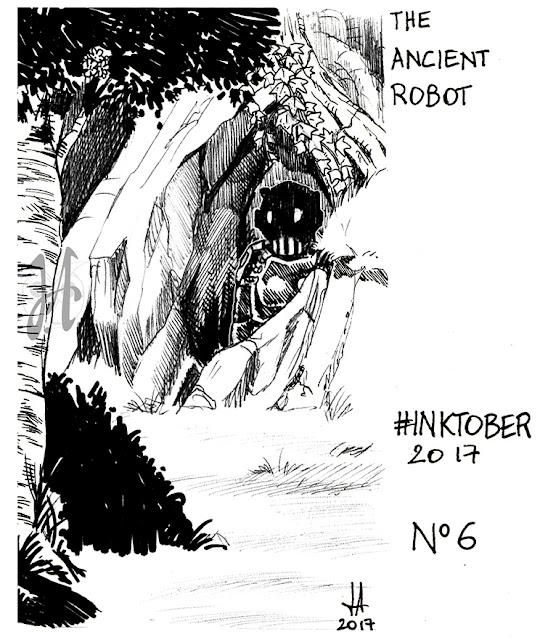 inktober-ink-robot-luciaalocchiart-lucyowlart