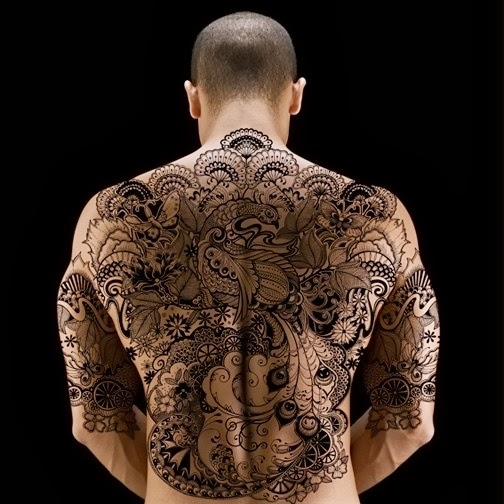 Fashion For Girls: Back Tattoos And Designs