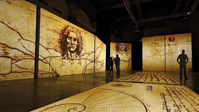Μία μοναδική περιπλάνηση στο μυαλό του Leonardo Da Vinci