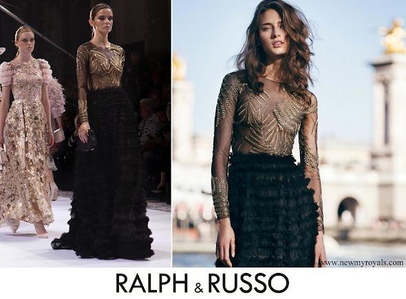 Meghan Markle wore Ralph & Russo Dress from Autumn Winter 2016