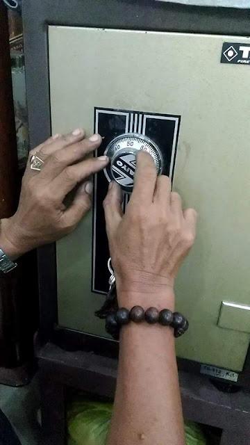 Quên mật khẩu két sắt cách mở như nào