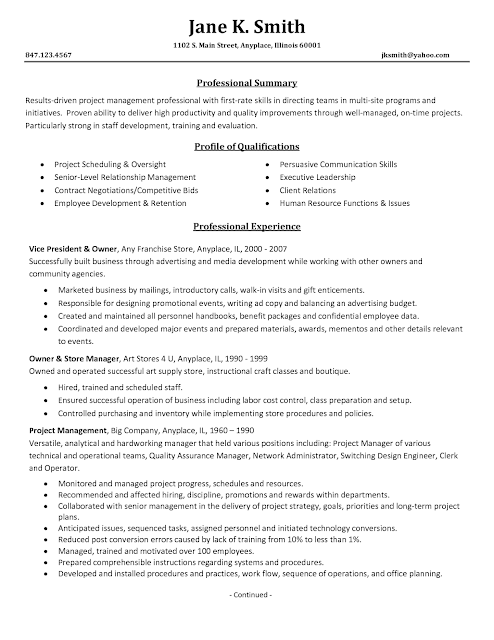 Project Manager Resume Examples it project manager resume sample project manager resume sample 1 Project Manager Resume Examples Project Management Resume Samples 2016 Sample Resumesfile