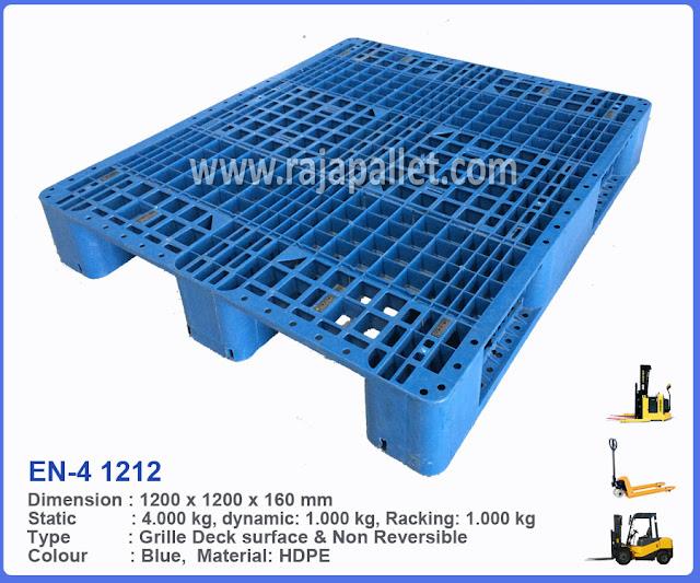 Pallet Plastik EN-4 1212