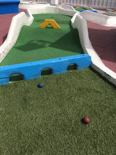 Mini Golf Aquarium in Lanzarote. Photo by Les Tubby, July 2018