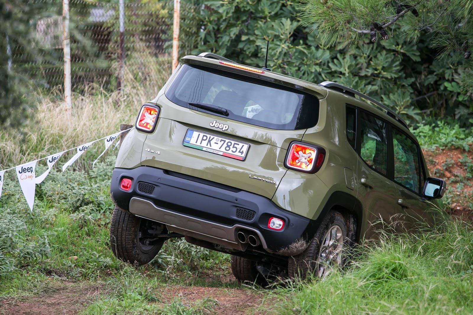 KF 1513 Πετάμε ένα Jeep Renegade σε λάσπες, πέτρες, άμμο, λίμνες. Θα τα καταφέρει;